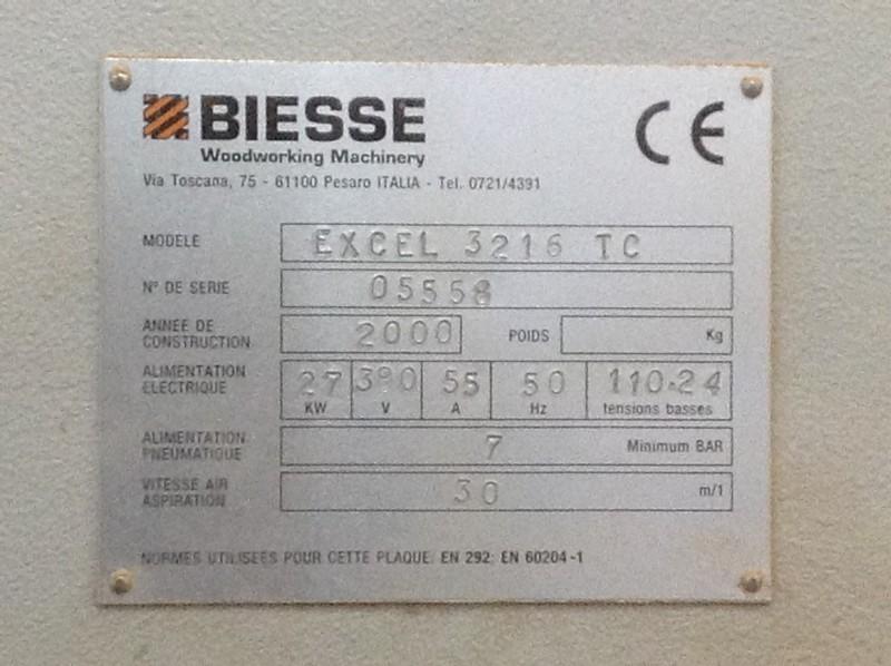Centre Biesse PROTEC EXCEL 3216 TC