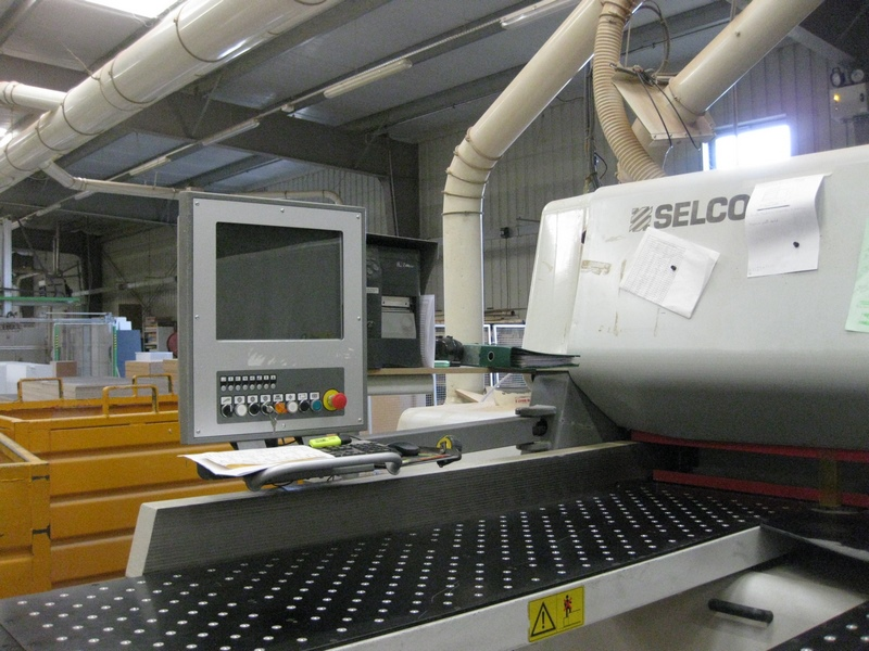 SCIE A PANNEAUX SELCO WNT600