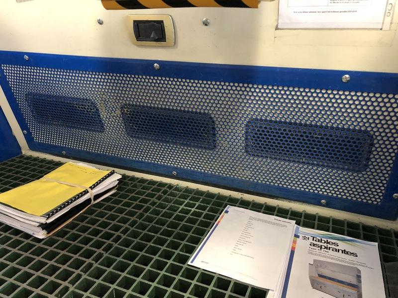 Table aspirante TC700/1500
