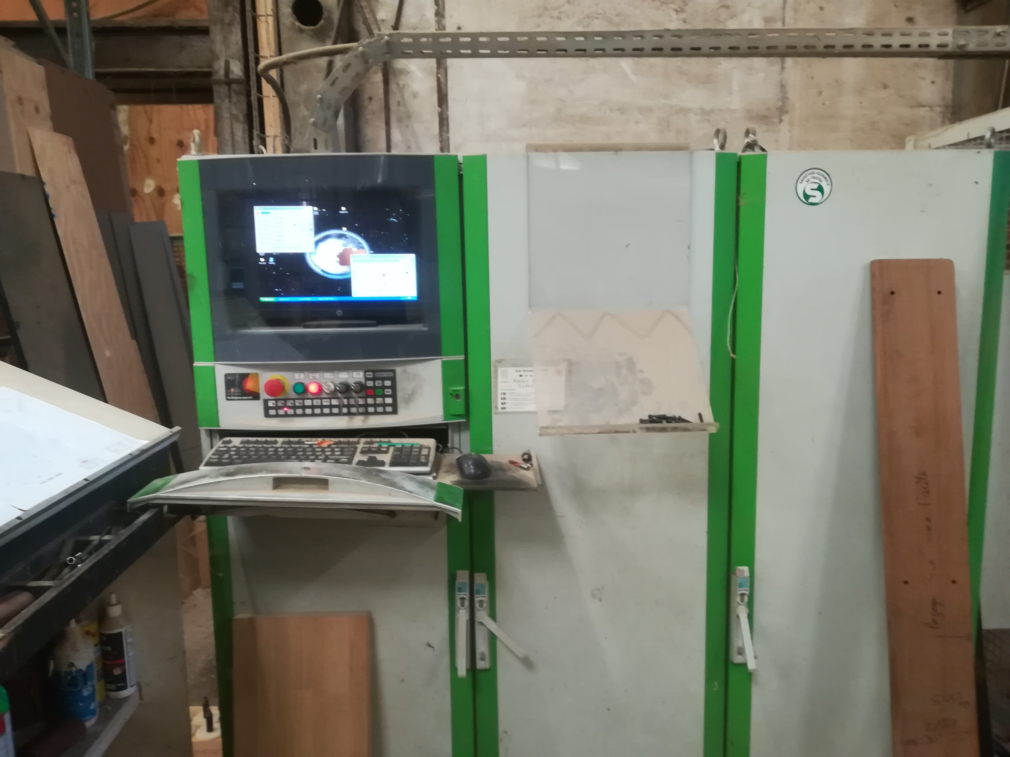 Centre d'usinage Biesse Rover 37 ATS XL1