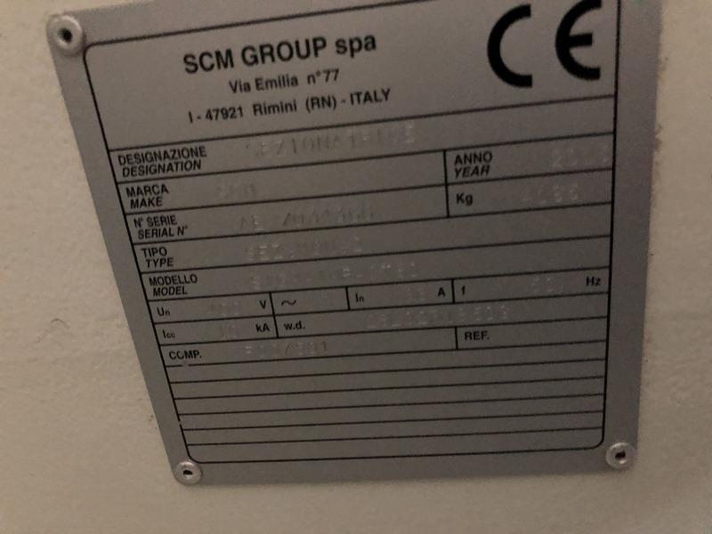 SCIE A PANNEAUX SCM SIGMA IMPACT 90 – 38